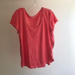 Rosy red pink top